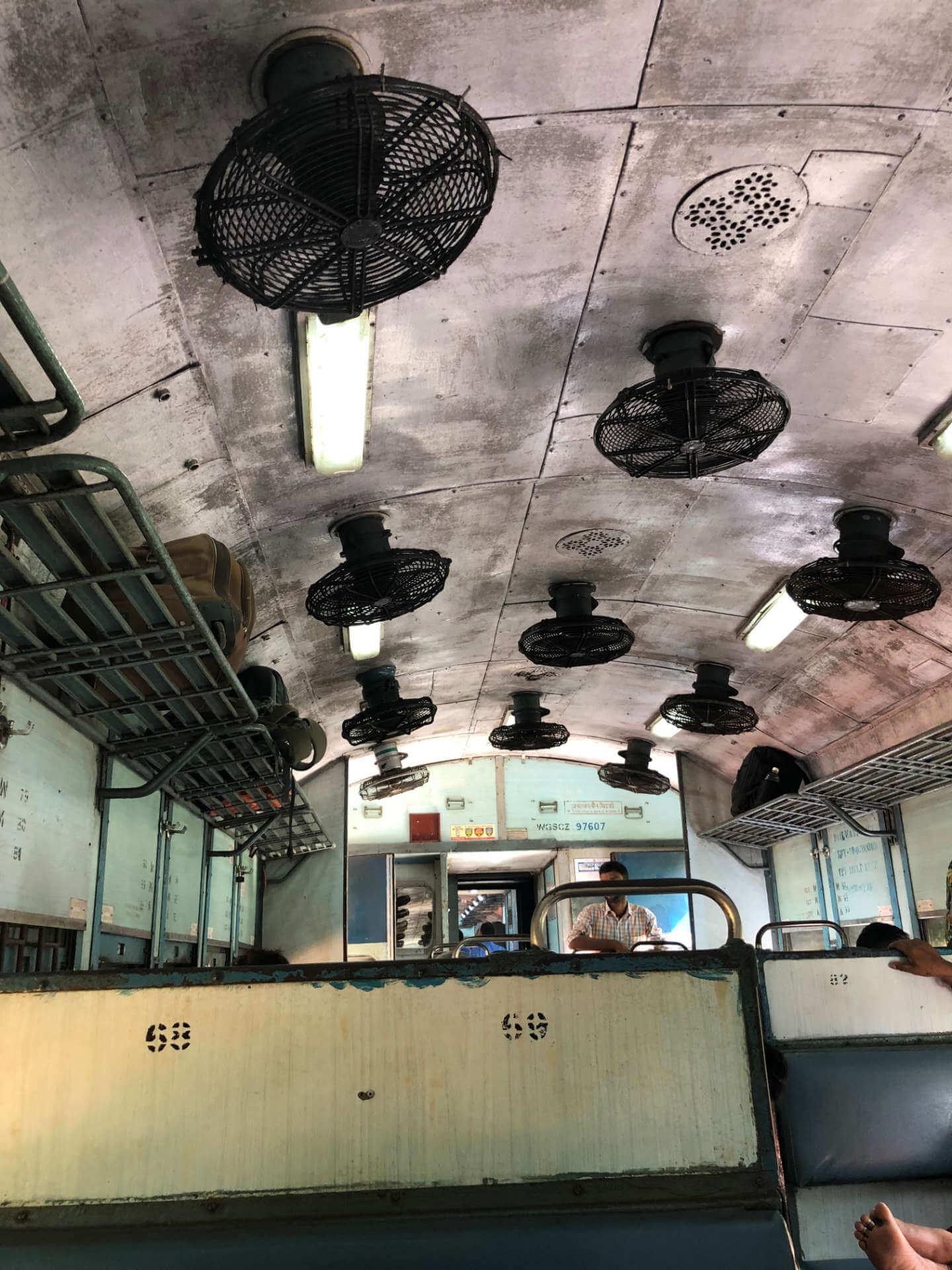Indien Canacona Zug nach Margao