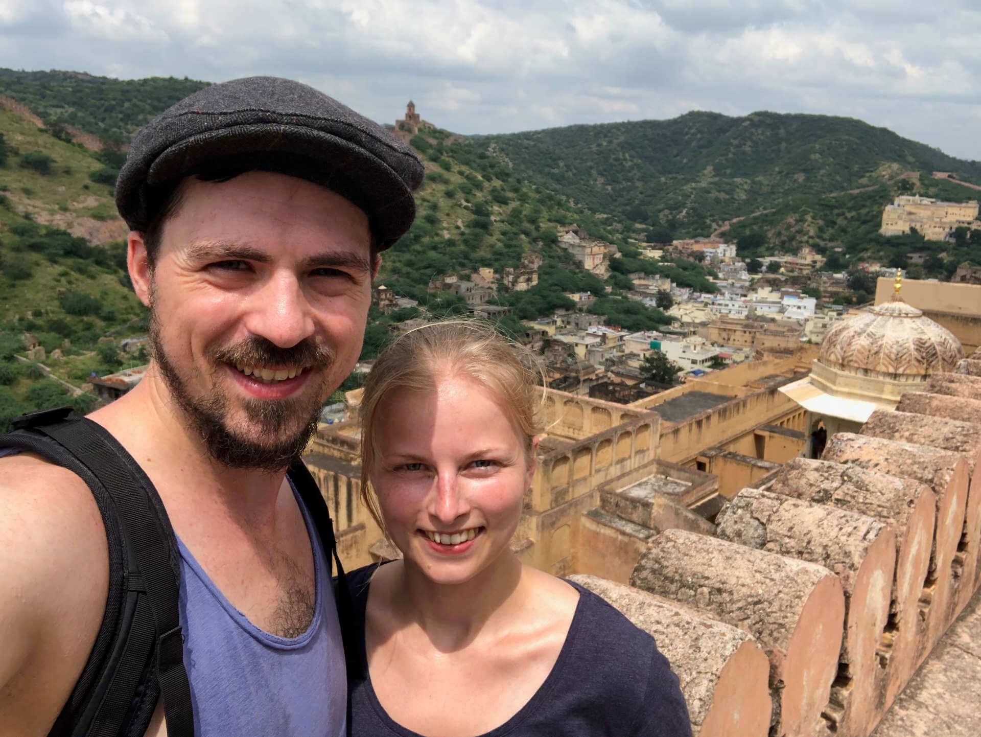 Indien Jaipur Amber For Selfie Drinnen