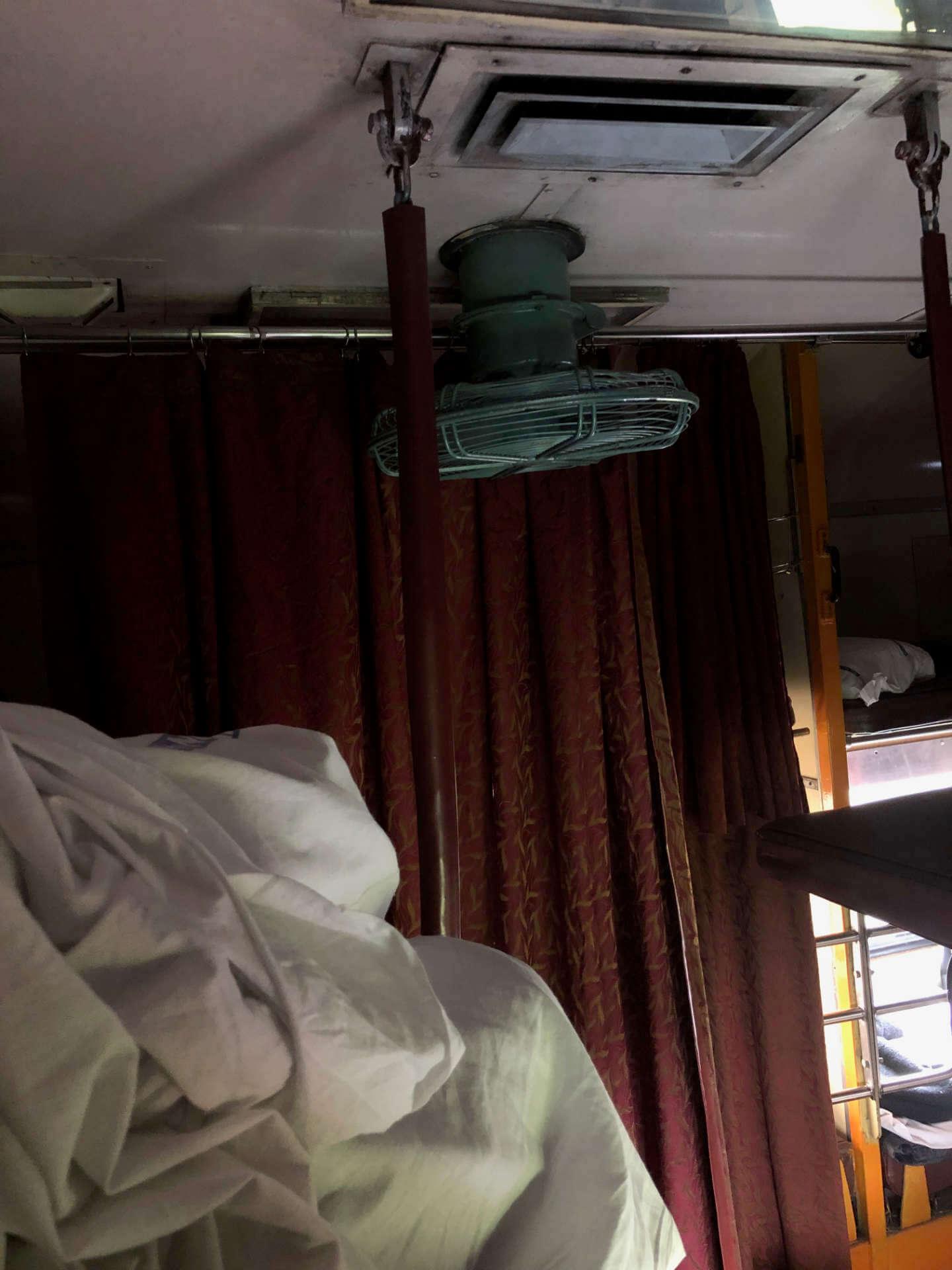 Zug Klimaanlage 2. Klasse