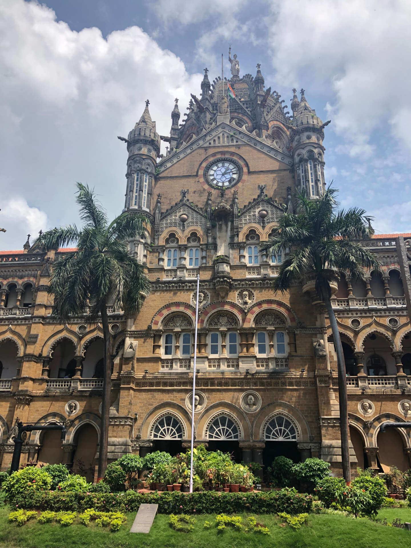 Indien Mumbai Chhatrapati Shivaji Maharaj Terminus