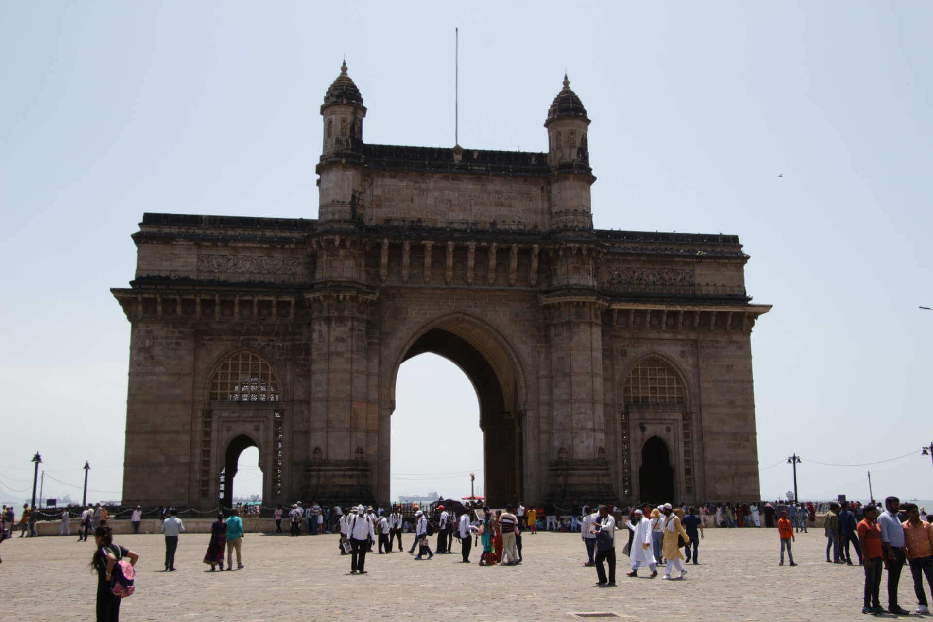 Indien Mumbai Gate of India