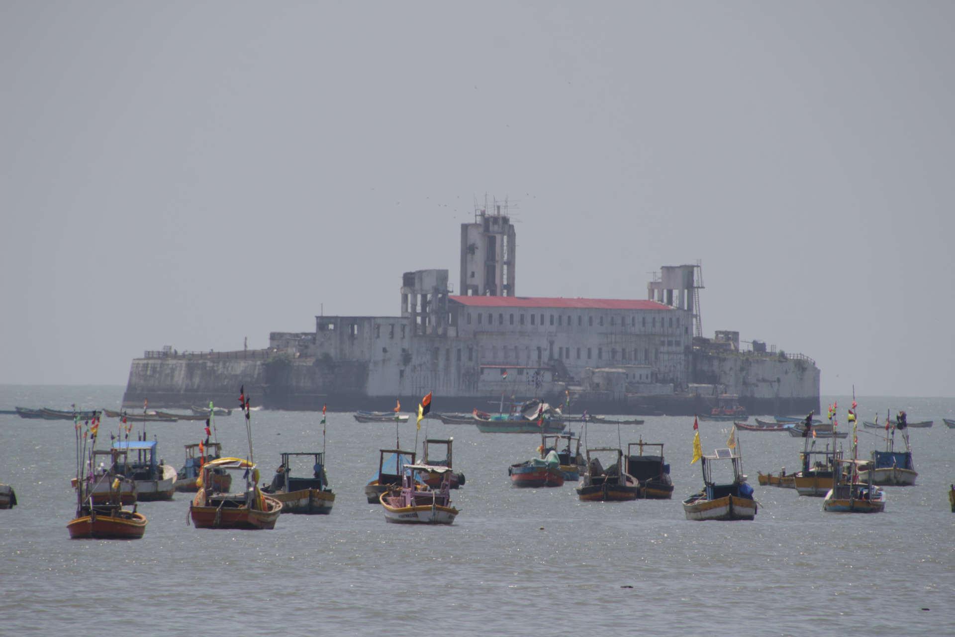 Indien Mumbai Harbor