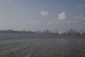 Indien Mumbai Skyline