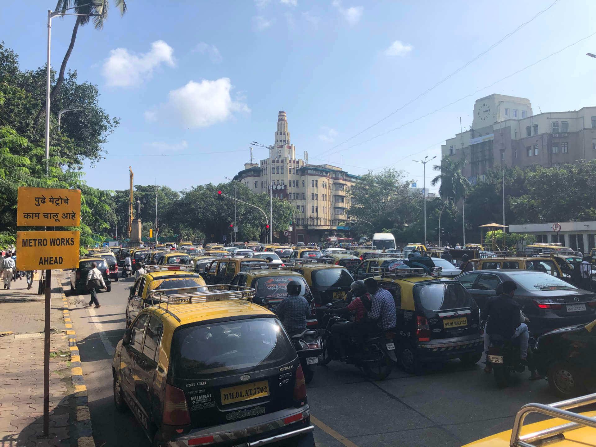 Indien Mumbai Verkehrschaos
