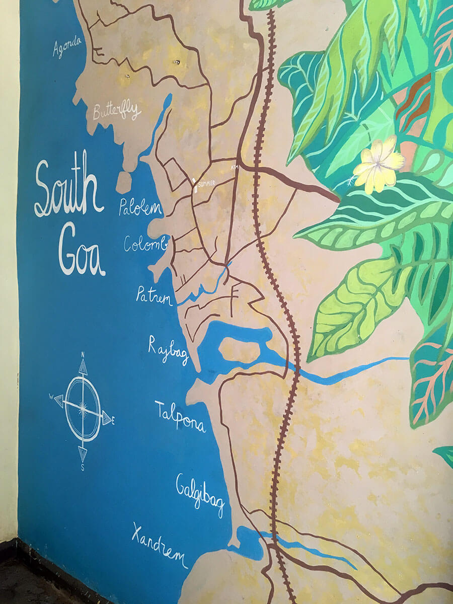Der Süden von Goa