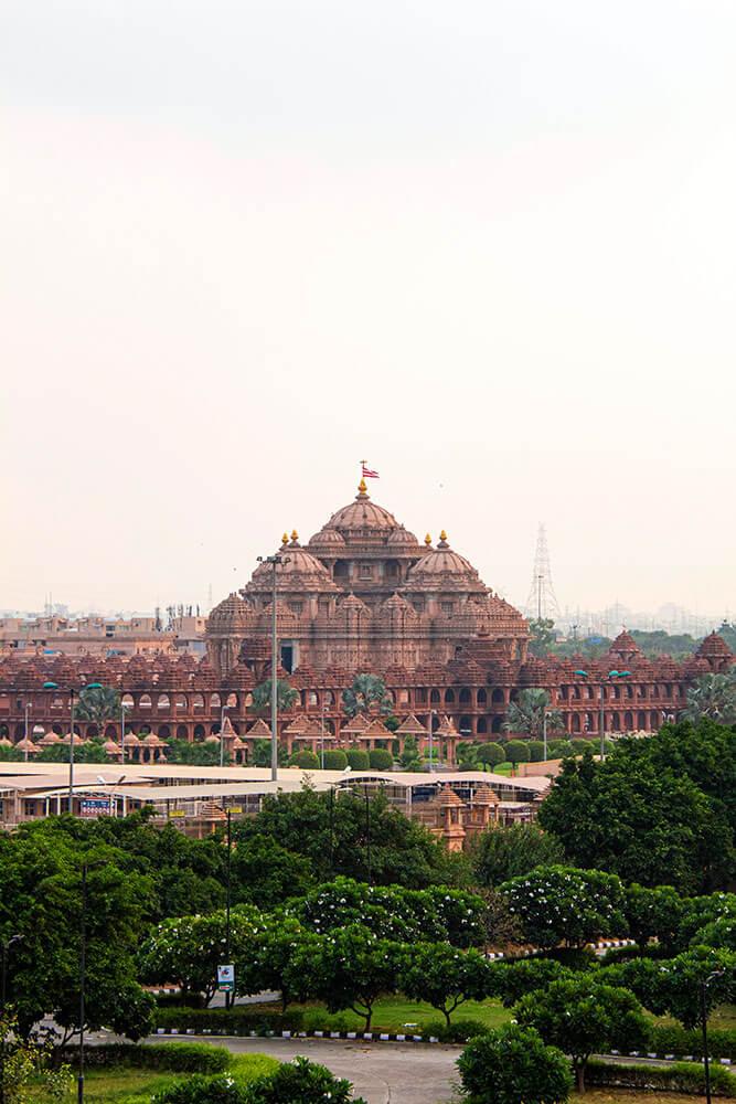 Akshardam Temple in Neu-Delhi