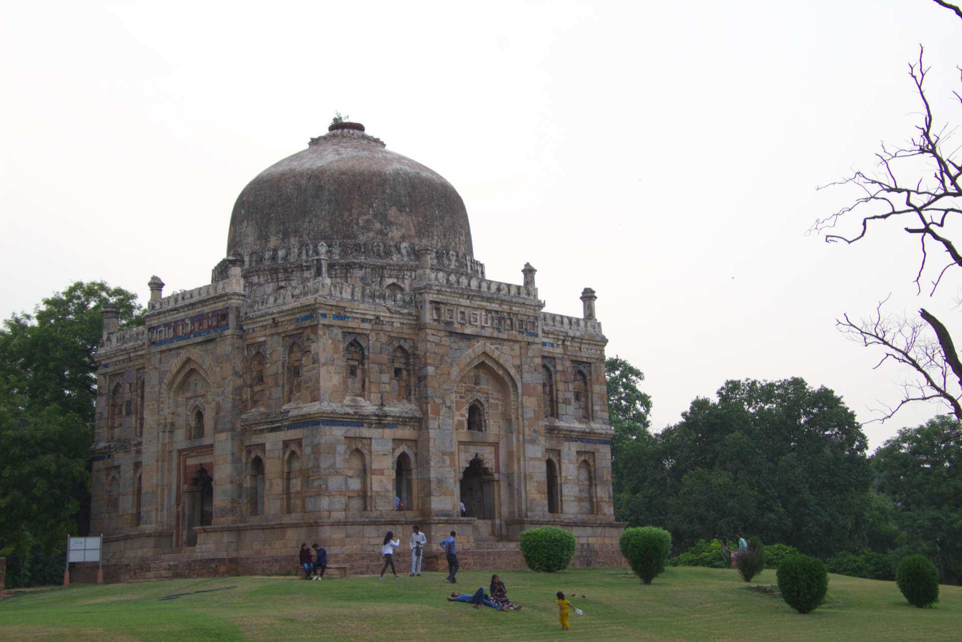 Lodi Gärten in Neu-Delhi