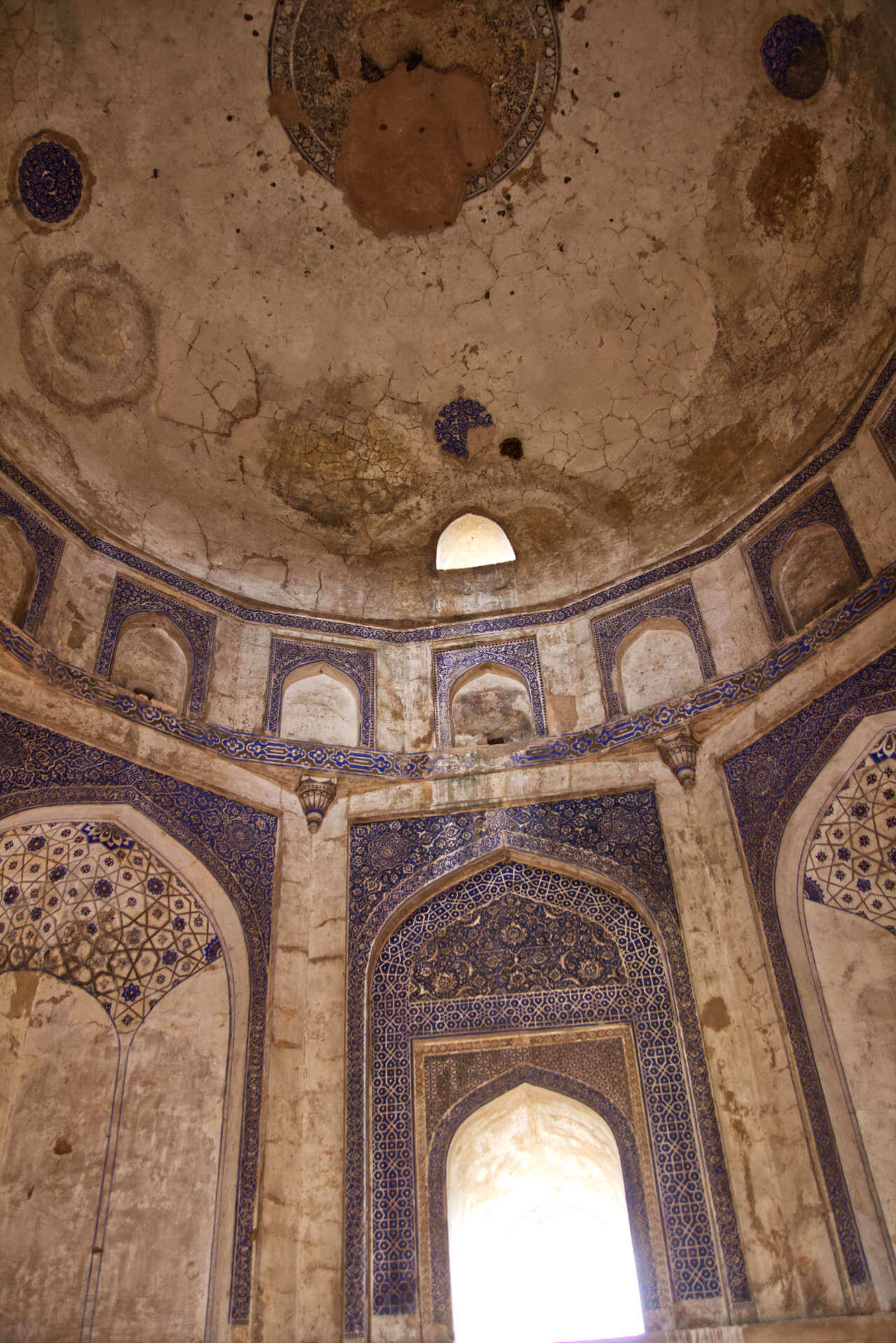 Mehrauli Archeological Park in Neu-Delhi