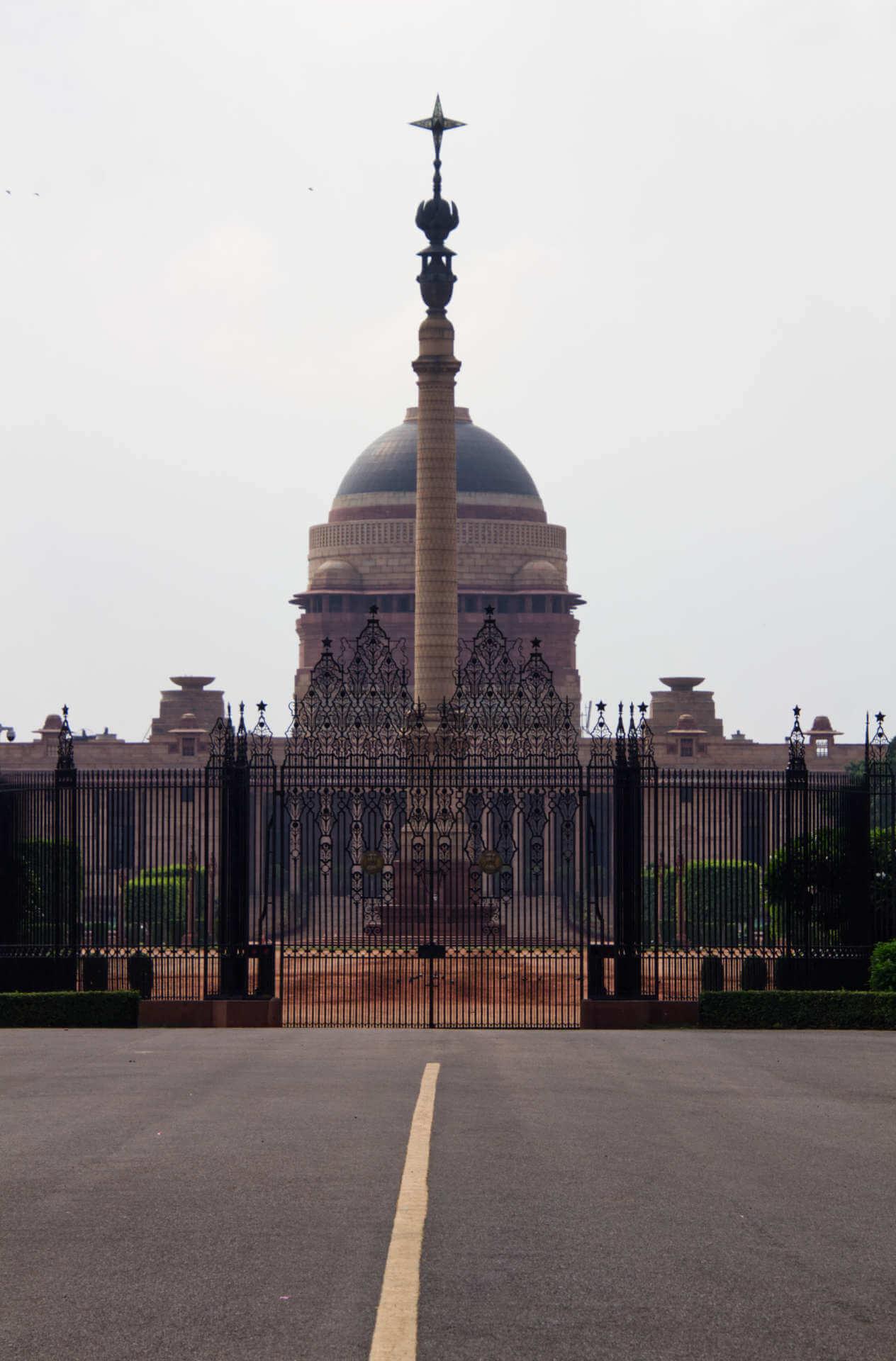 Rashtrapati Bhavan in Neu-Delhi