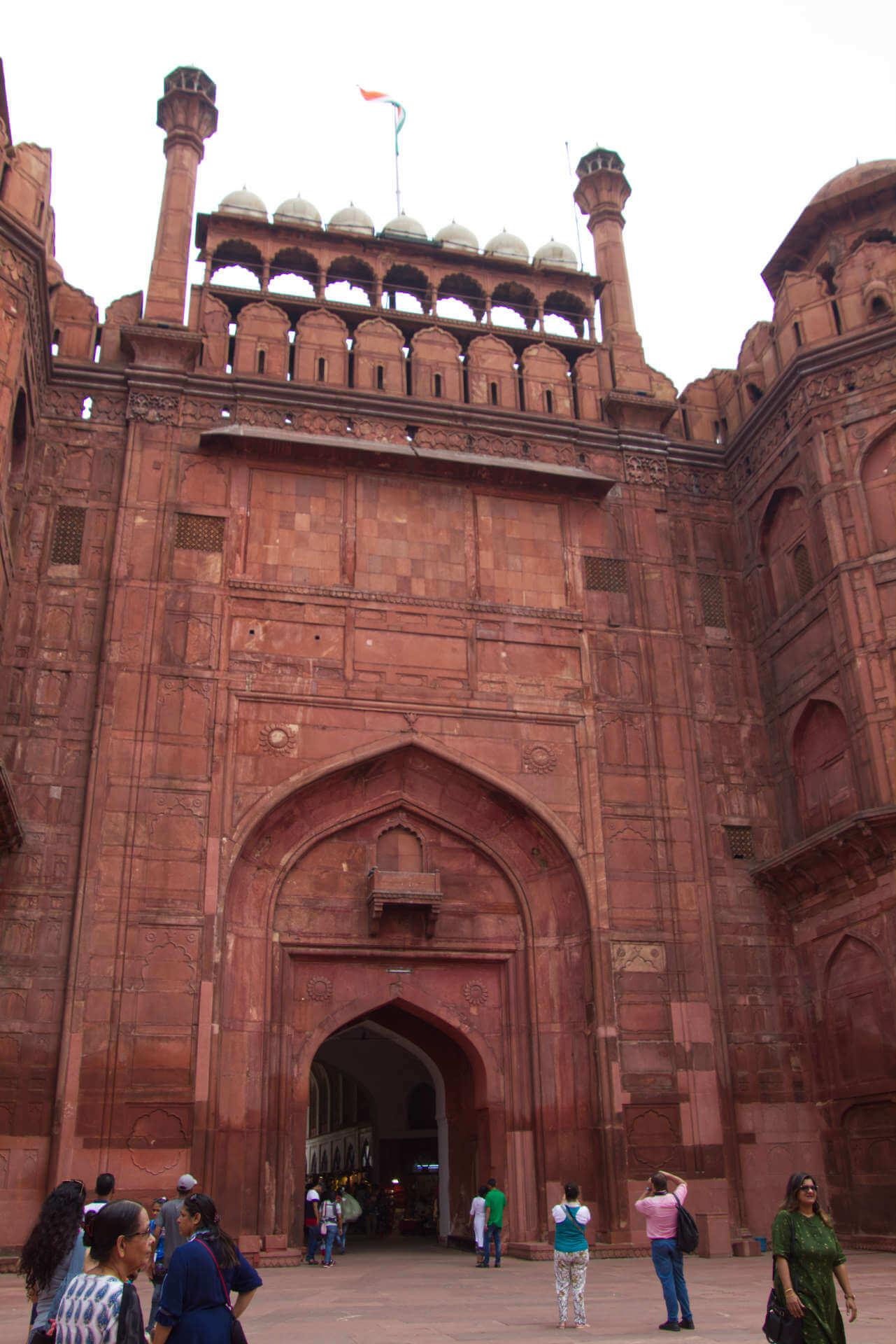 Red Fort in Neu-Delhi