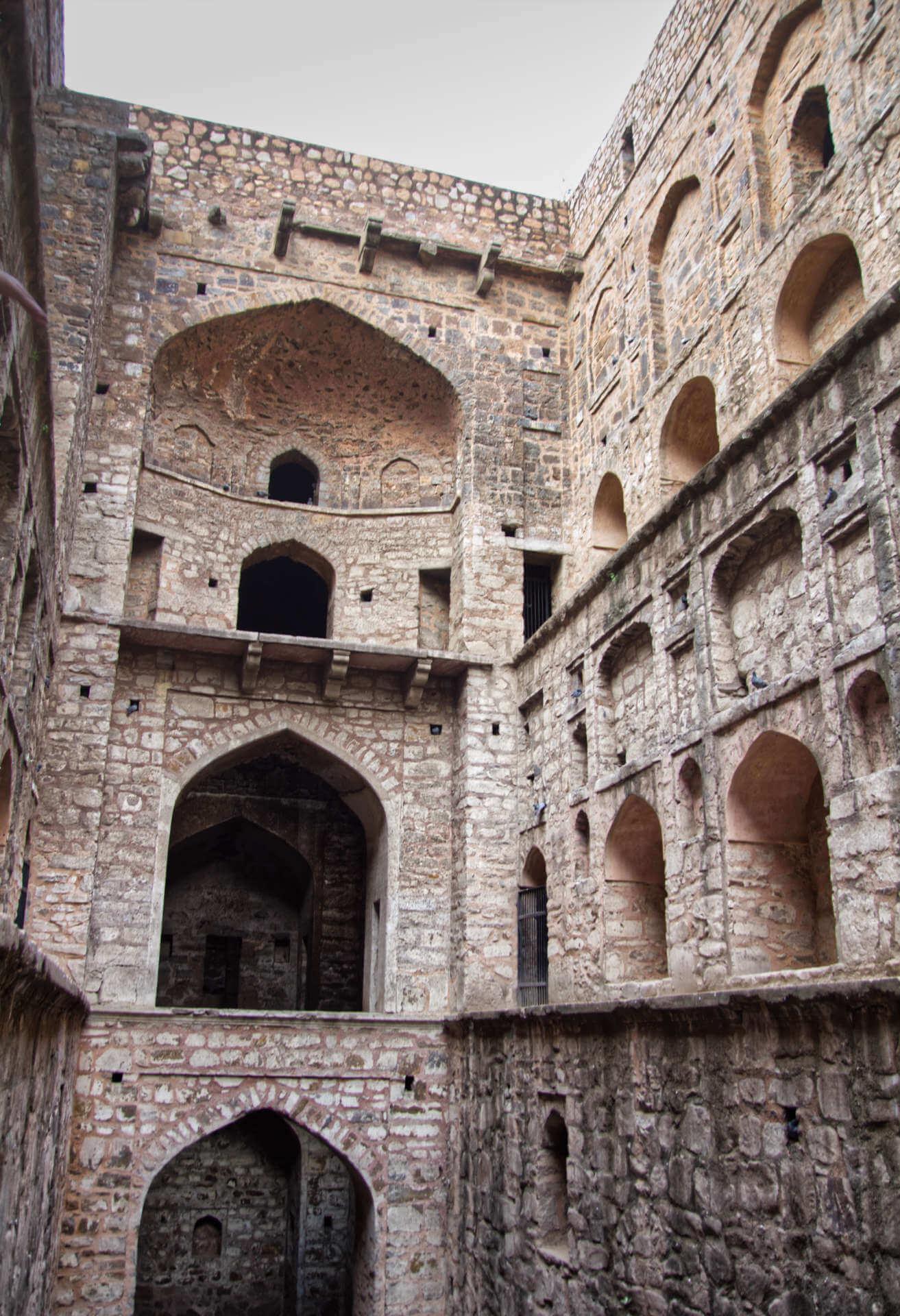 Step Well in Neu-Delhi
