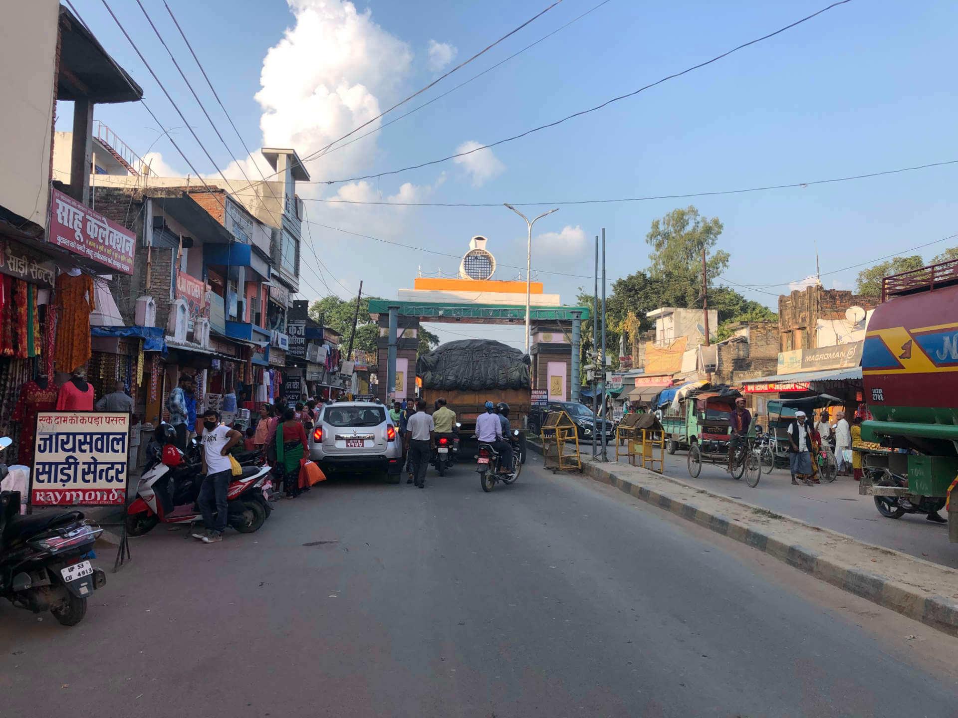 Indien_Sonauli_Grenze