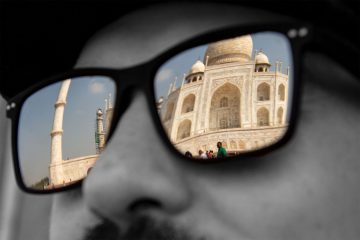 Taj Mahal in Bertis Brille