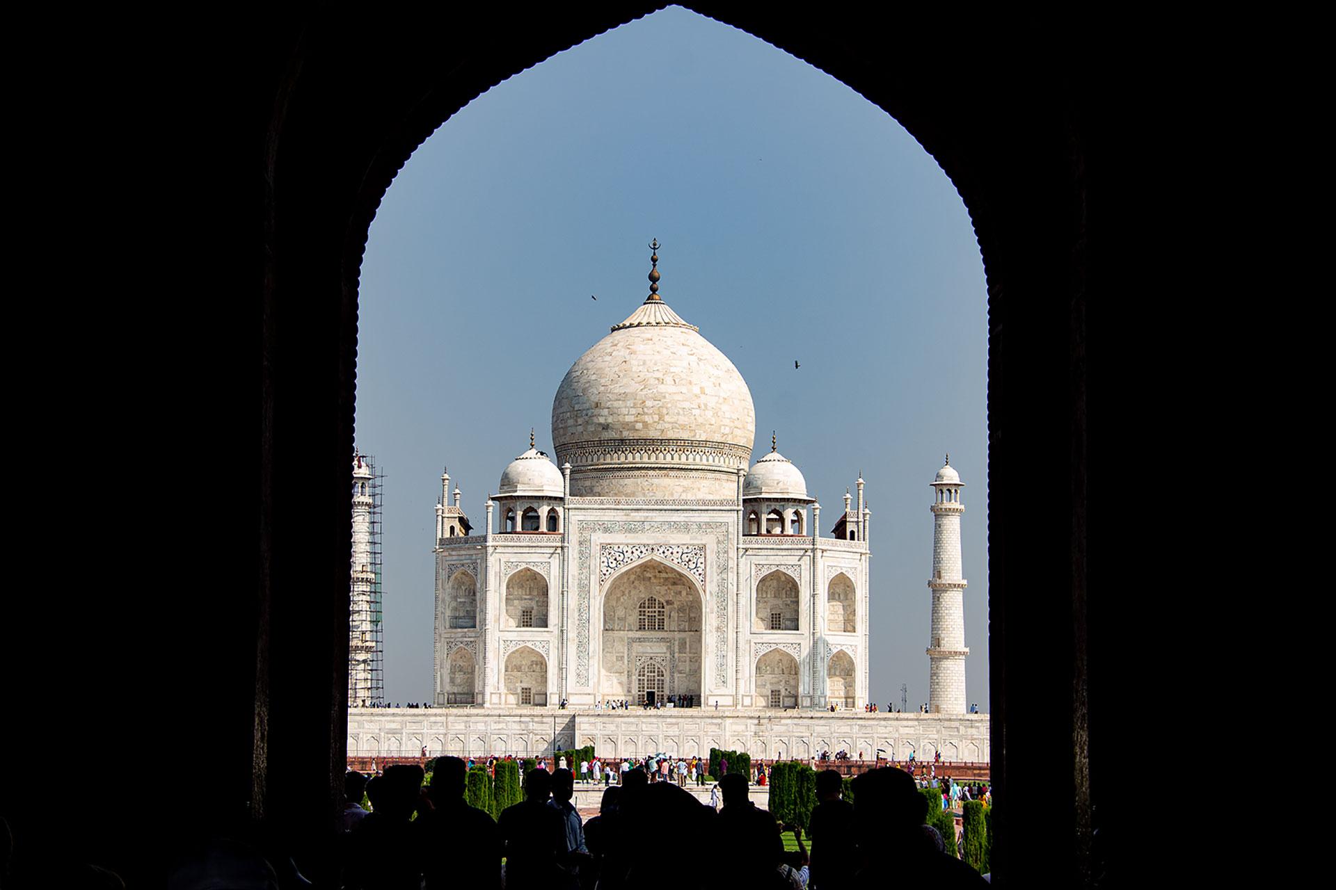Taj Mahal auf den ersten Blick