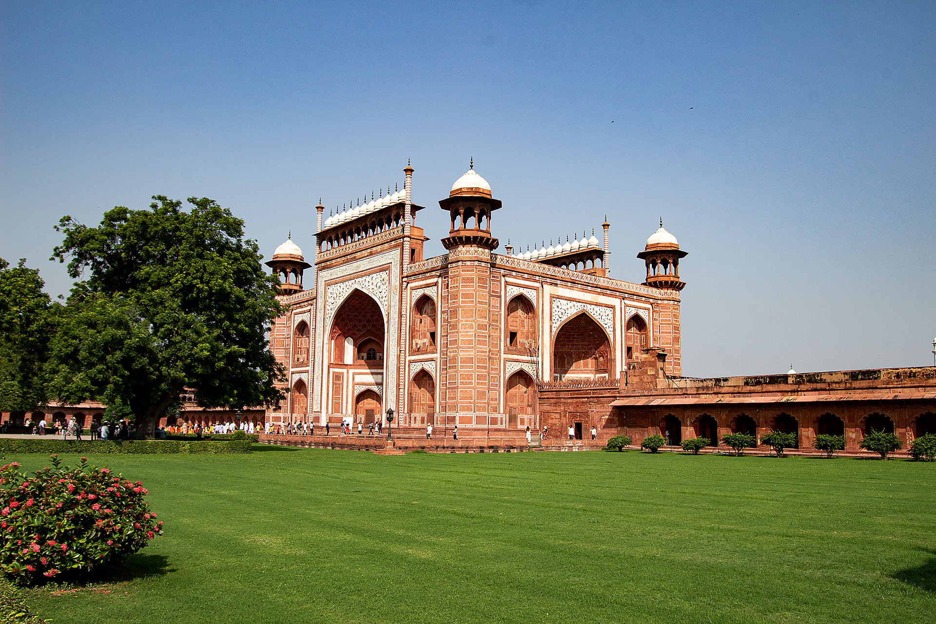 Taj Mahal Eingang