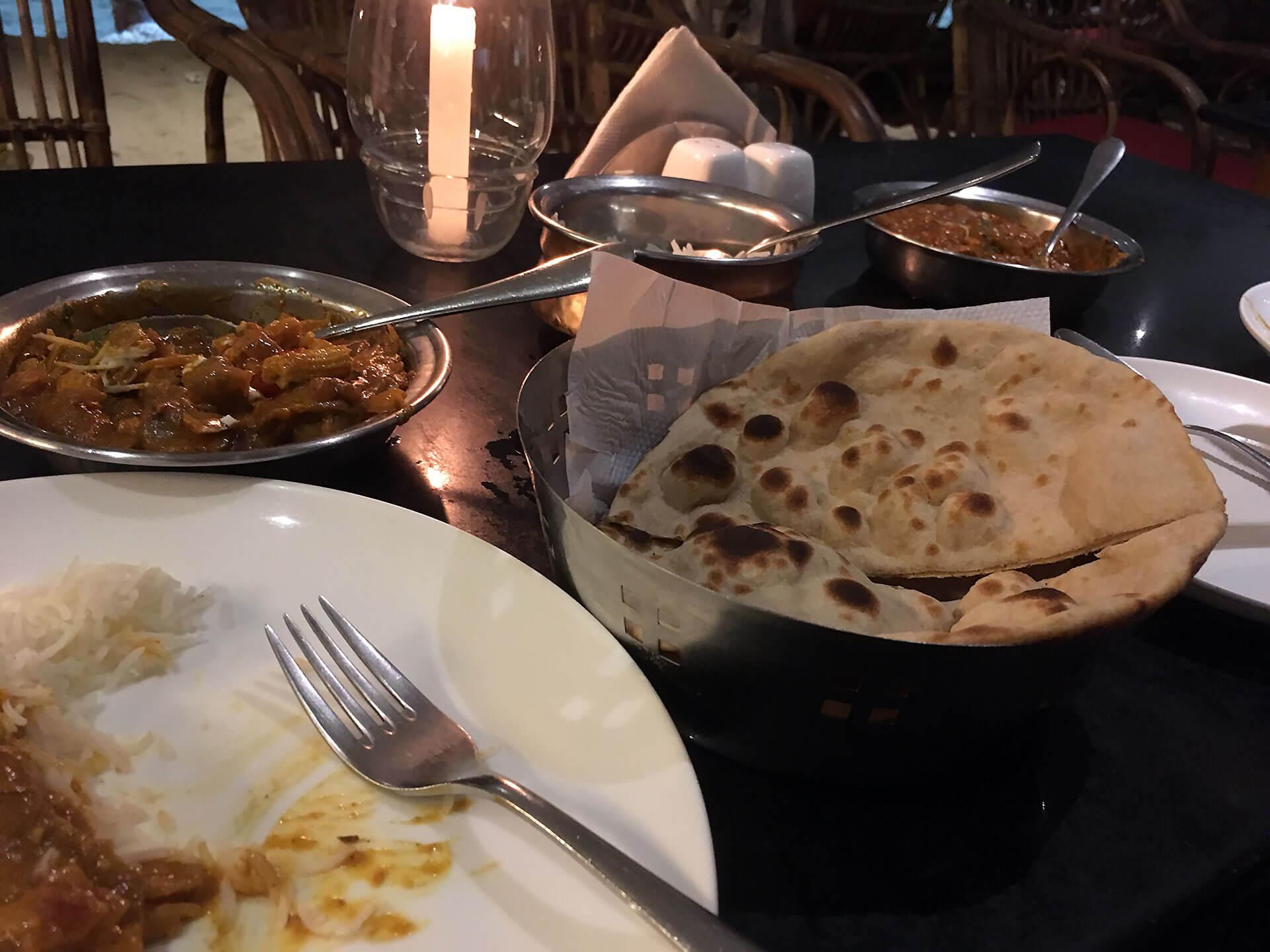 Roti und Masala in Indien