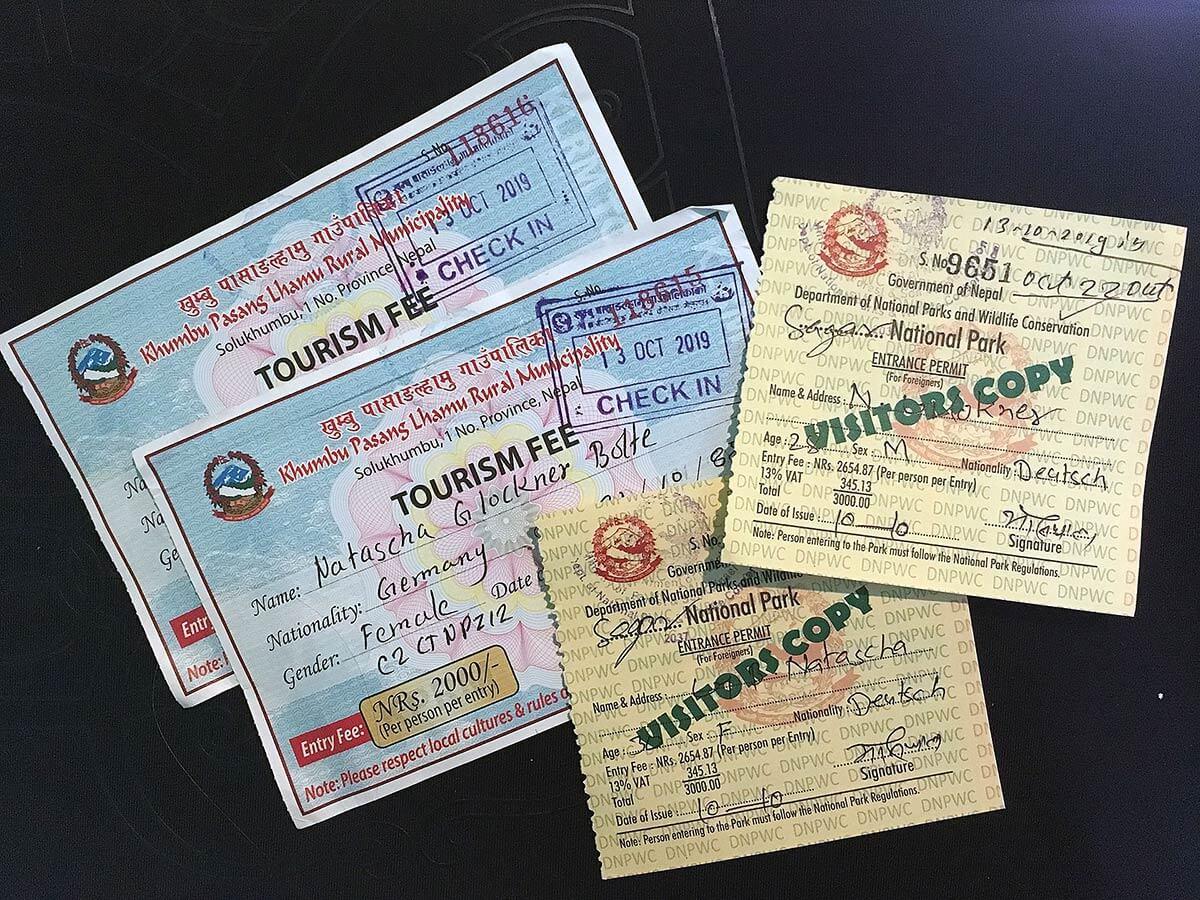 Sagarmatha Permits