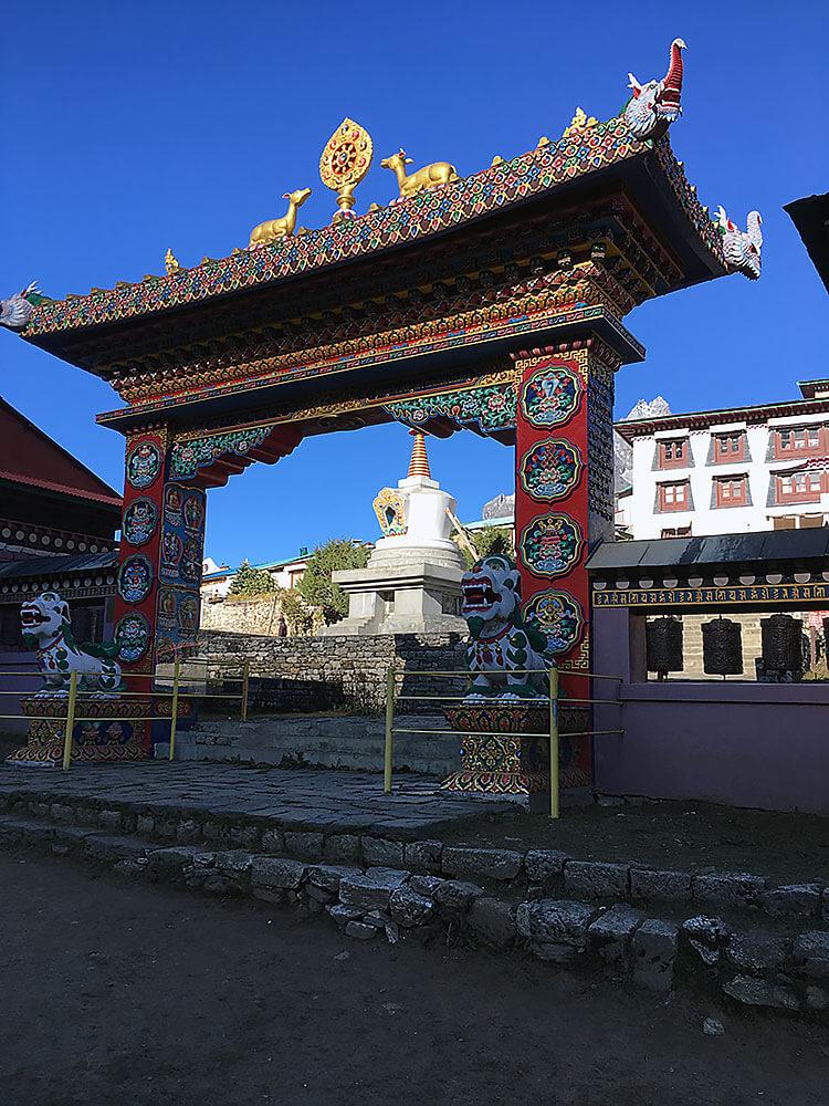 Kloster in Tengboche
