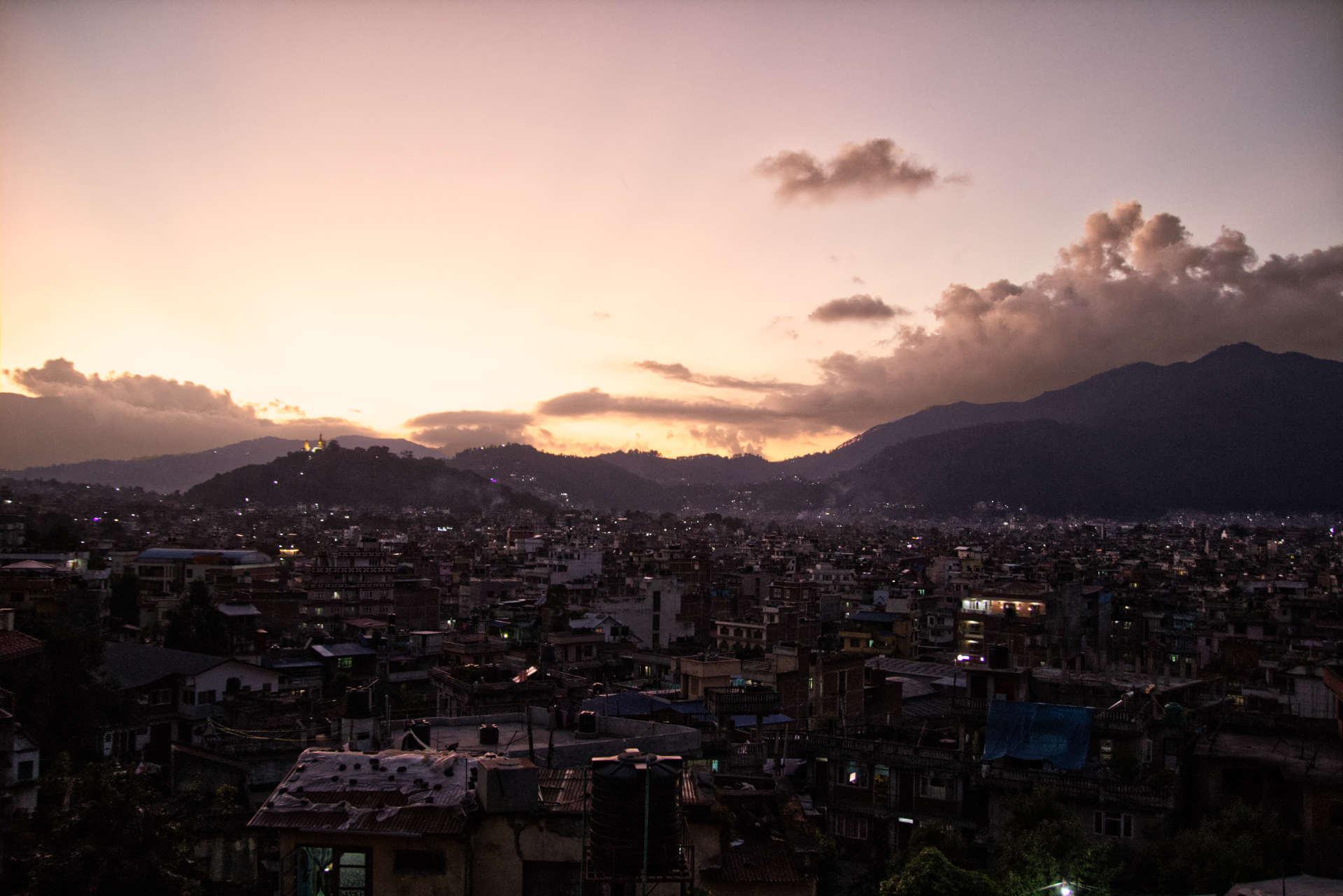 nepal_kathmandu_sunset