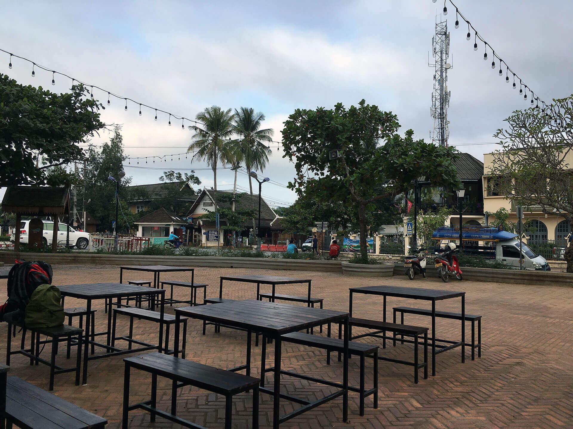 Stadtmitte in Luang Prabang
