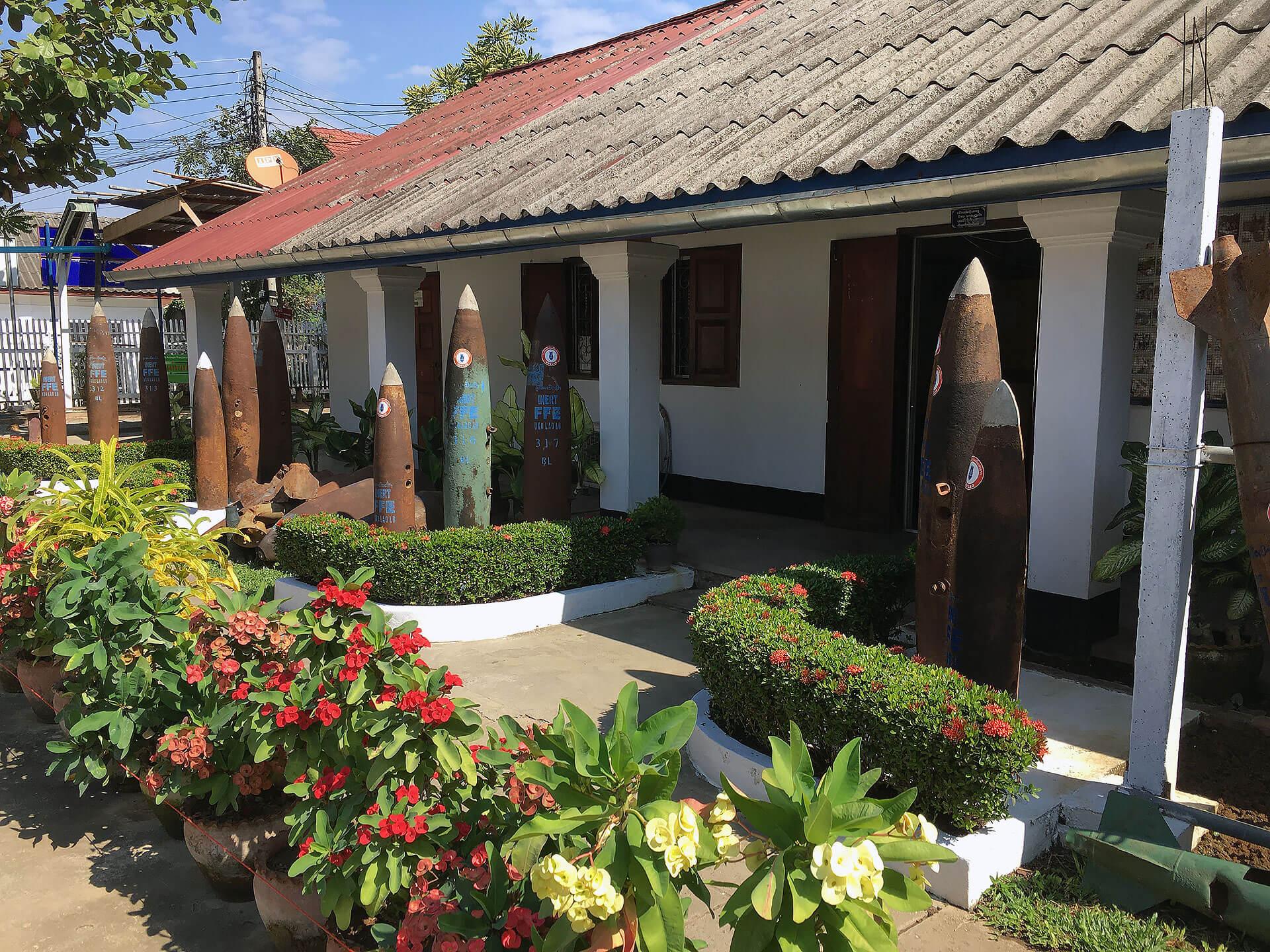 UXO Visitor Center in Luang Prabang