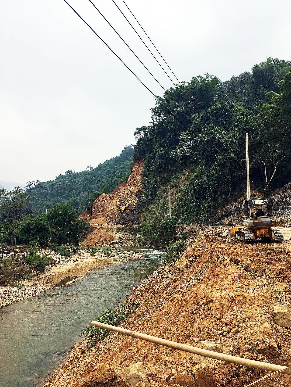 Zwischen Vieng Xai und Na Meo