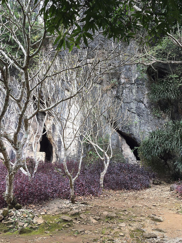 Höhleneingang in Vieng Xai
