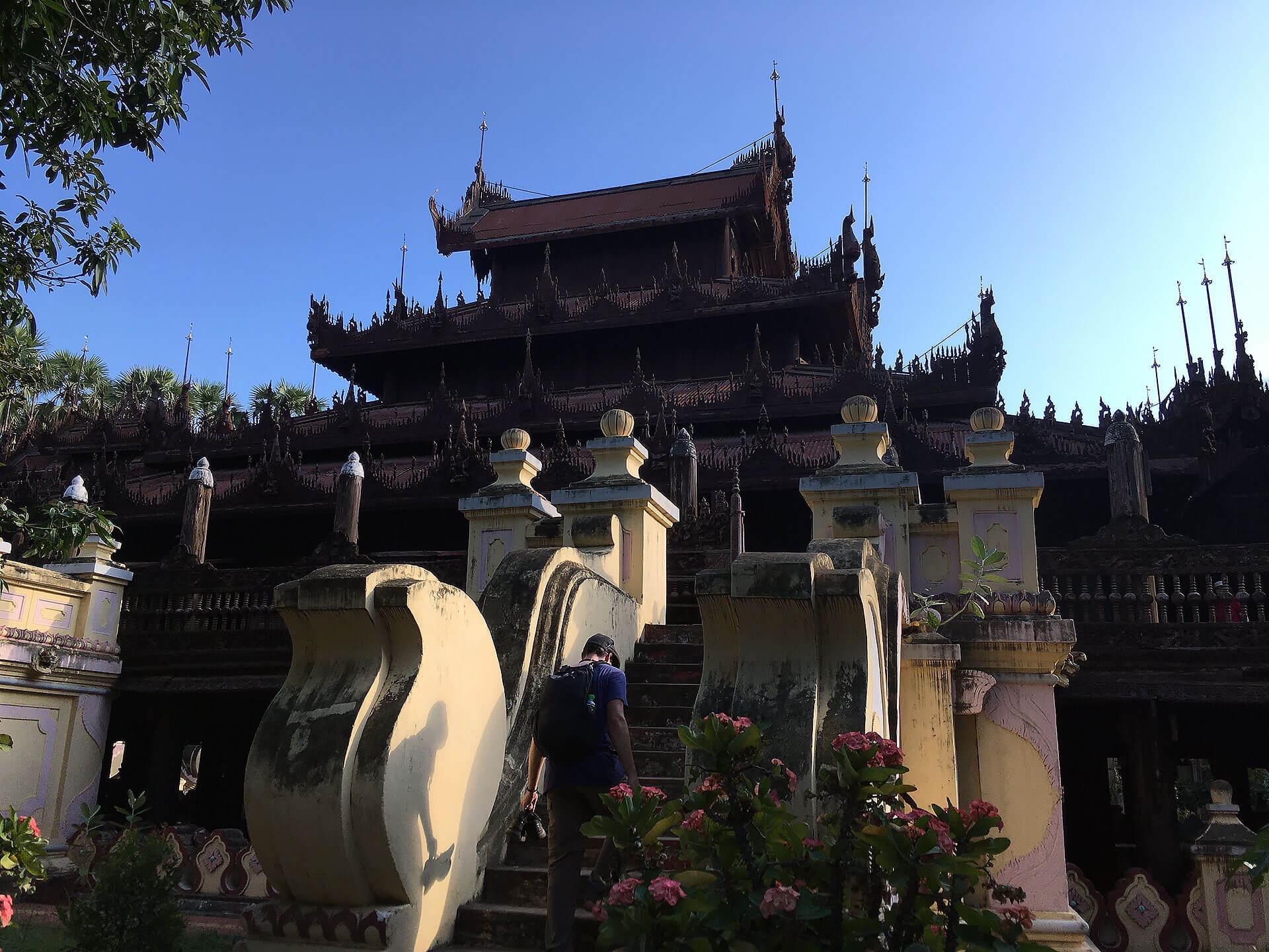 Shwe In Bin Kyaung Tempel