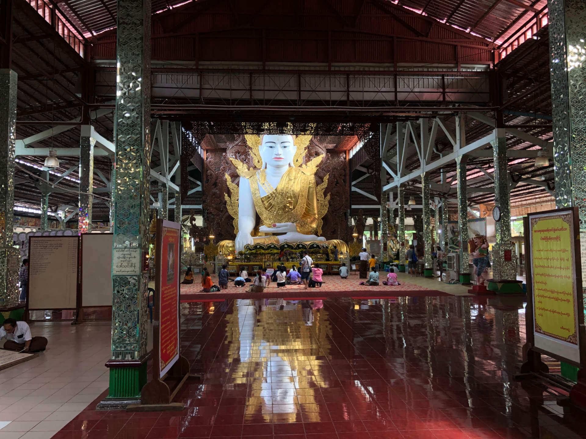 Tempel in Yangon