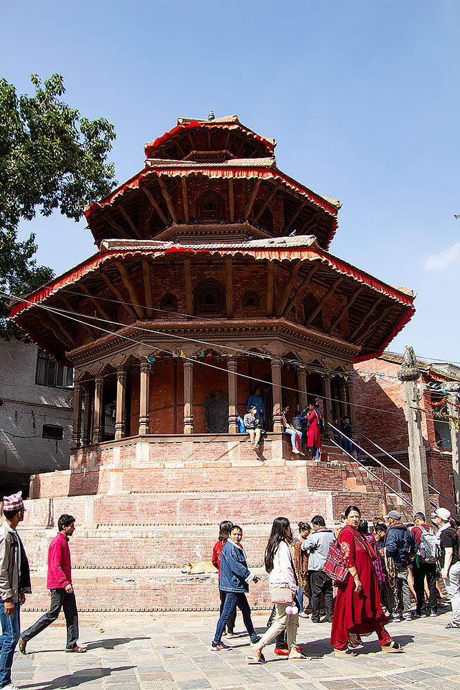 Der Krishnatempel am Durbar Platz