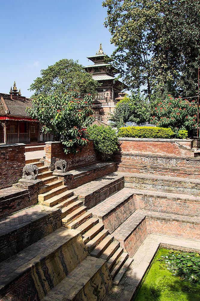 Der Taleju-Tempel am Durbar Square