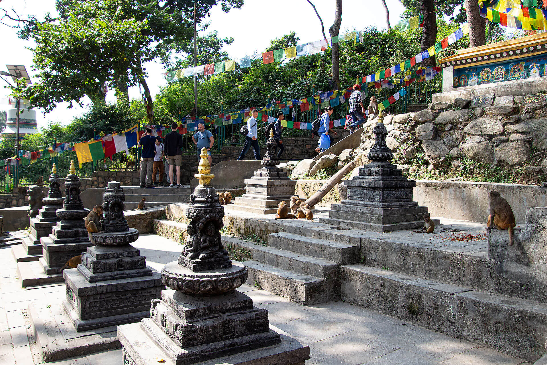 Swayabhunath Tempel