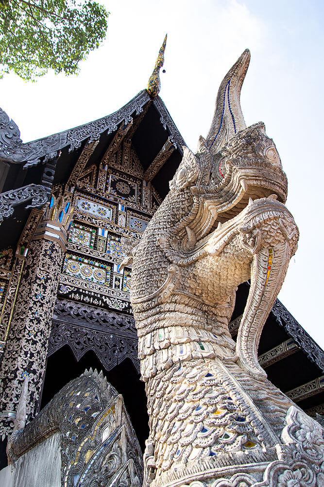 Wat Chedi Luang Eingang