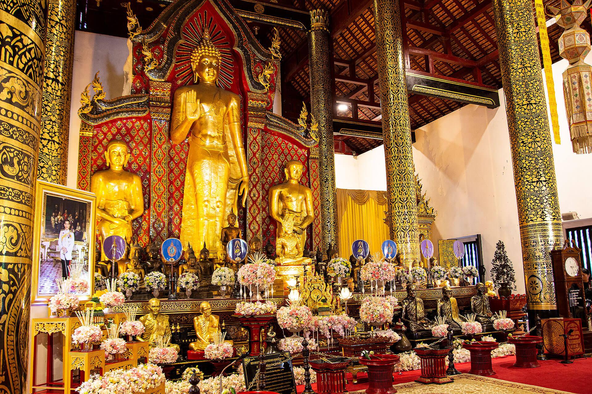 Buddha im Wat Chedi Luang