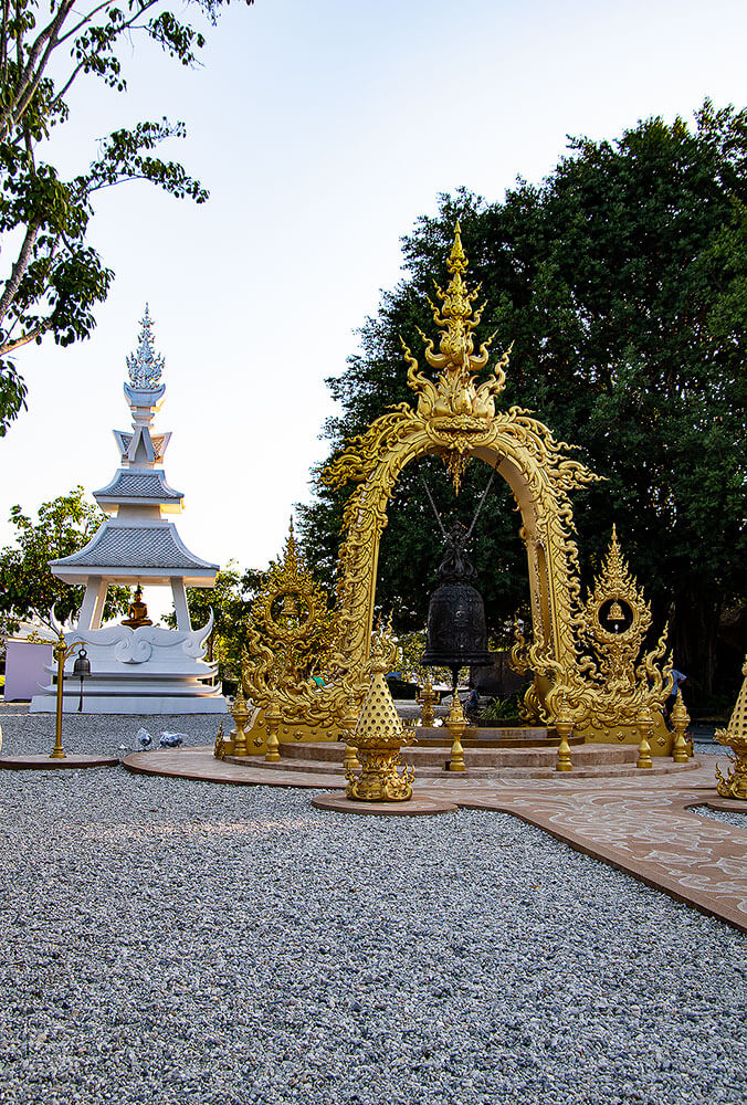 Glocke am Wat Rong Khun