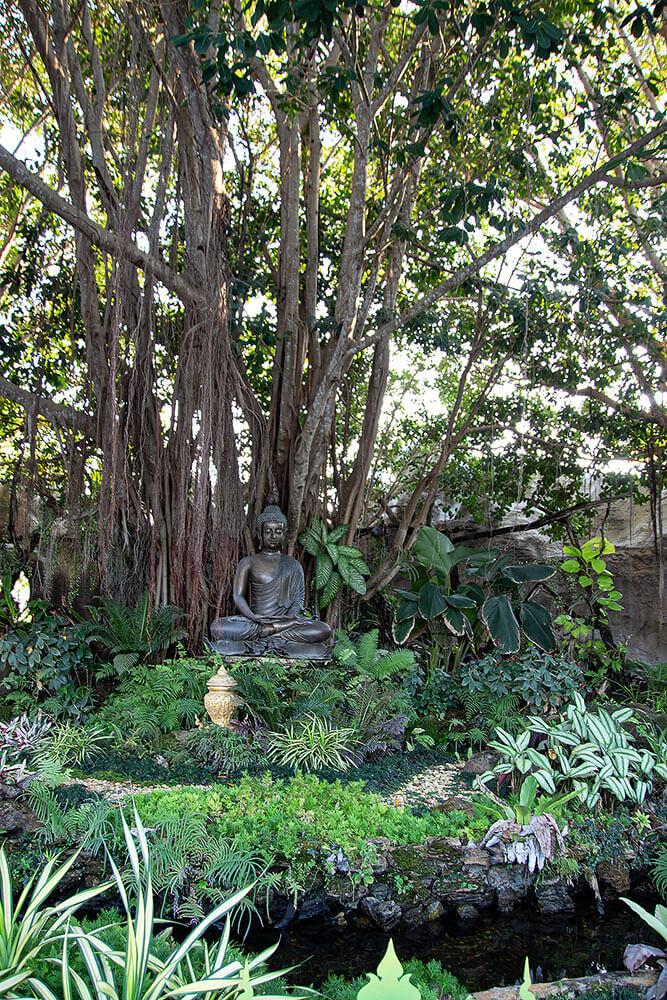 Buddha beim Wat Rong Khun