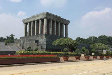 Ho-Chi-Minh Mausoleum in Hanoi