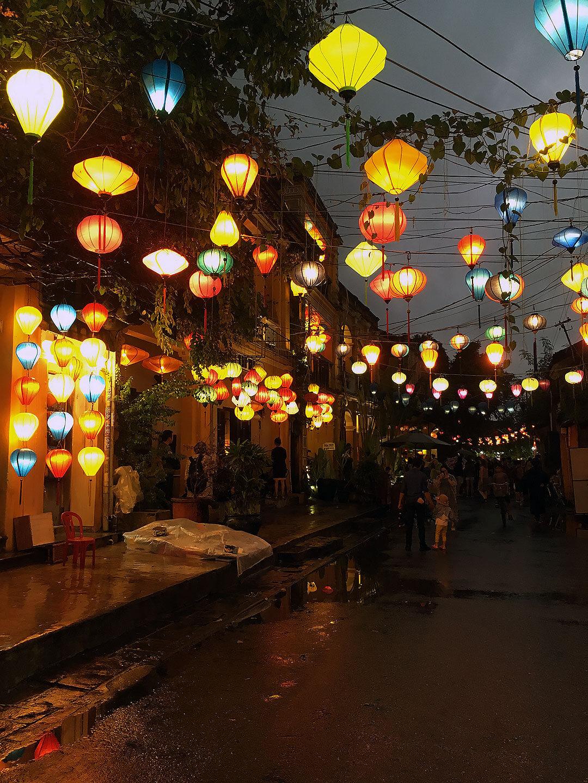 Altstadt am Abend in Hoi An