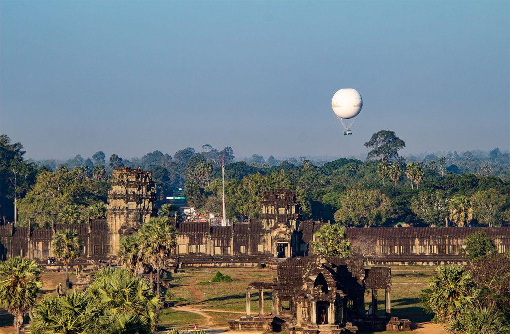 Blick von Angkor Wat