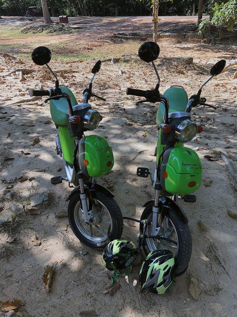 E-Bikes - Ankor Wat erkunden