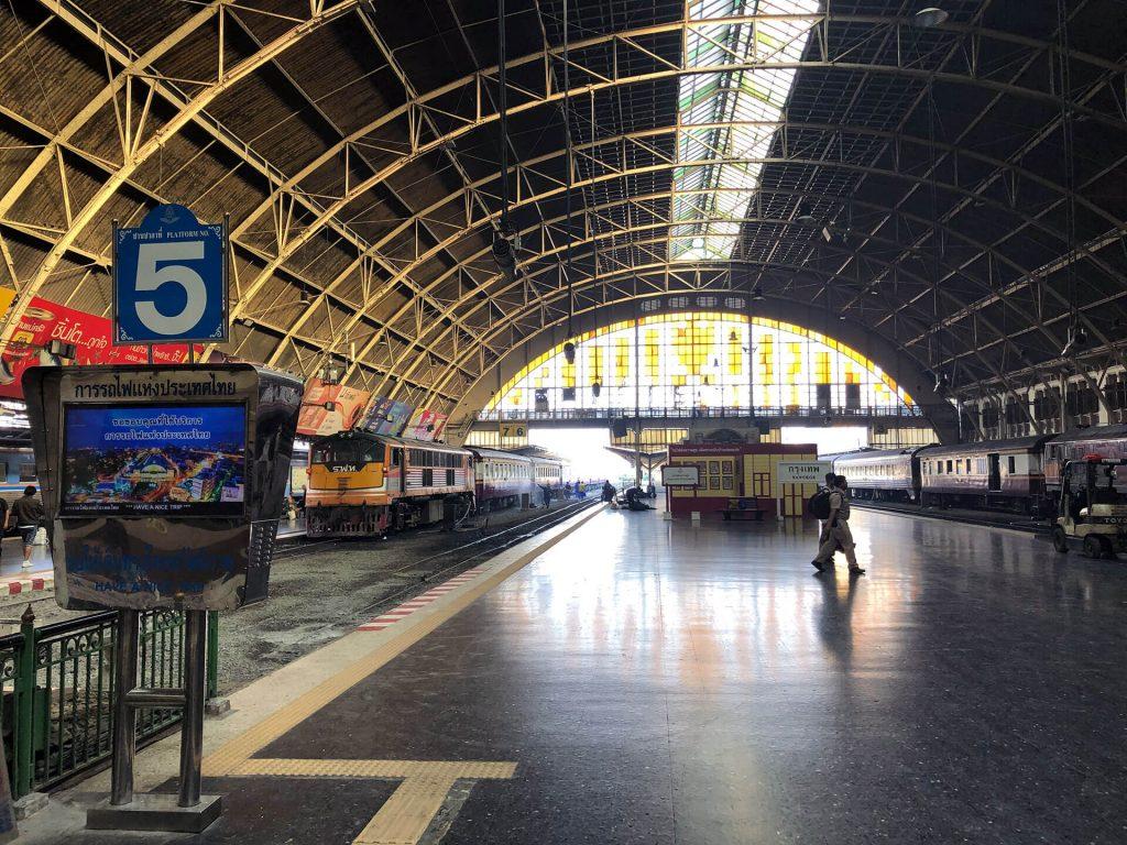 Im Bahnhof von Bangkok