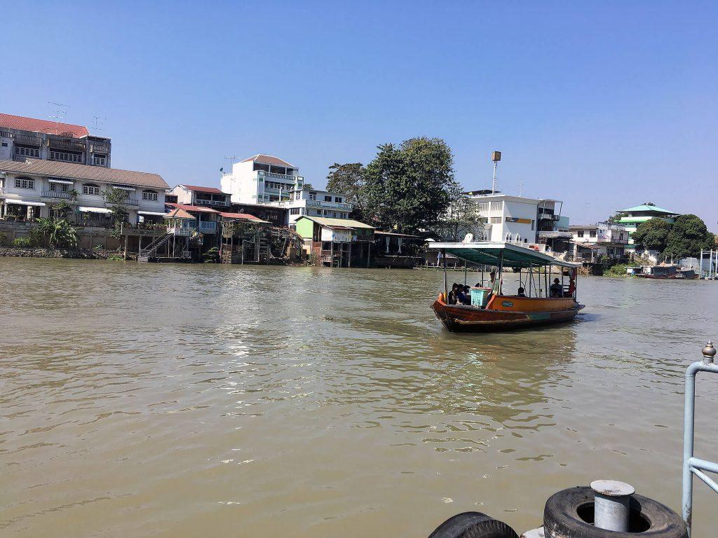 Fähre nach Ayutthaya