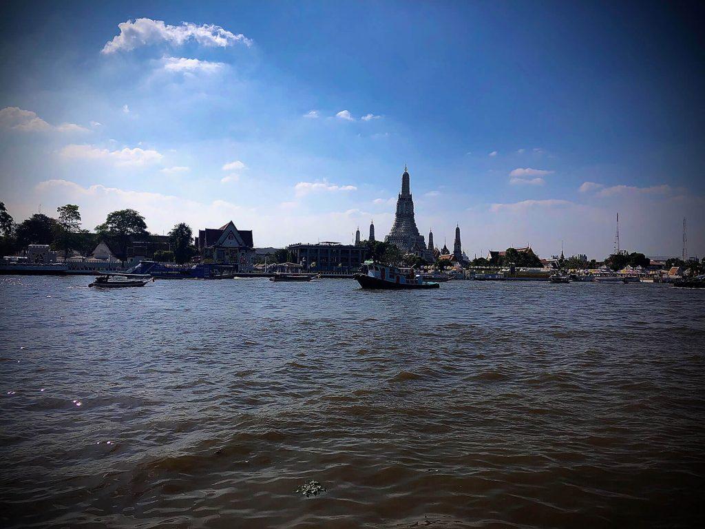 Auf dem Chao Phraya River