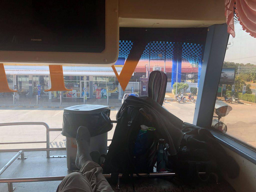 Busfahrt nach Bangkok