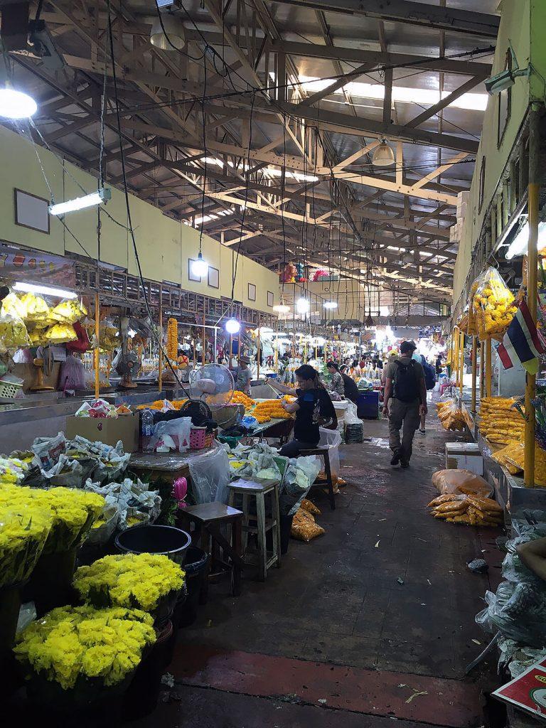 Blumenmarkt - Pak Khlong Talat