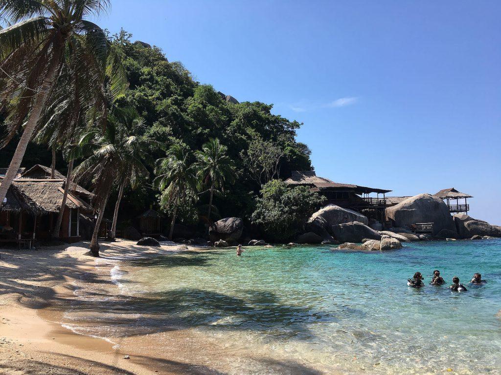Jansom Bucht in Ko Tao