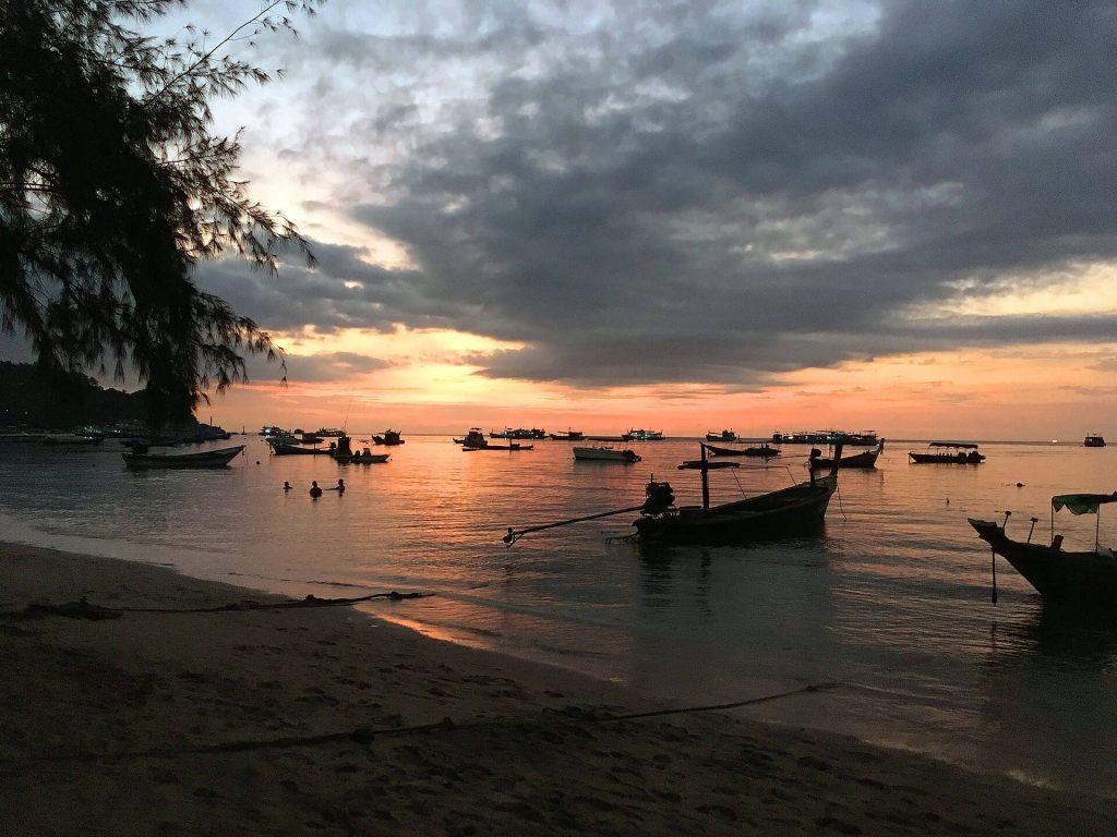 Sonnenuntergang in Ko Tao