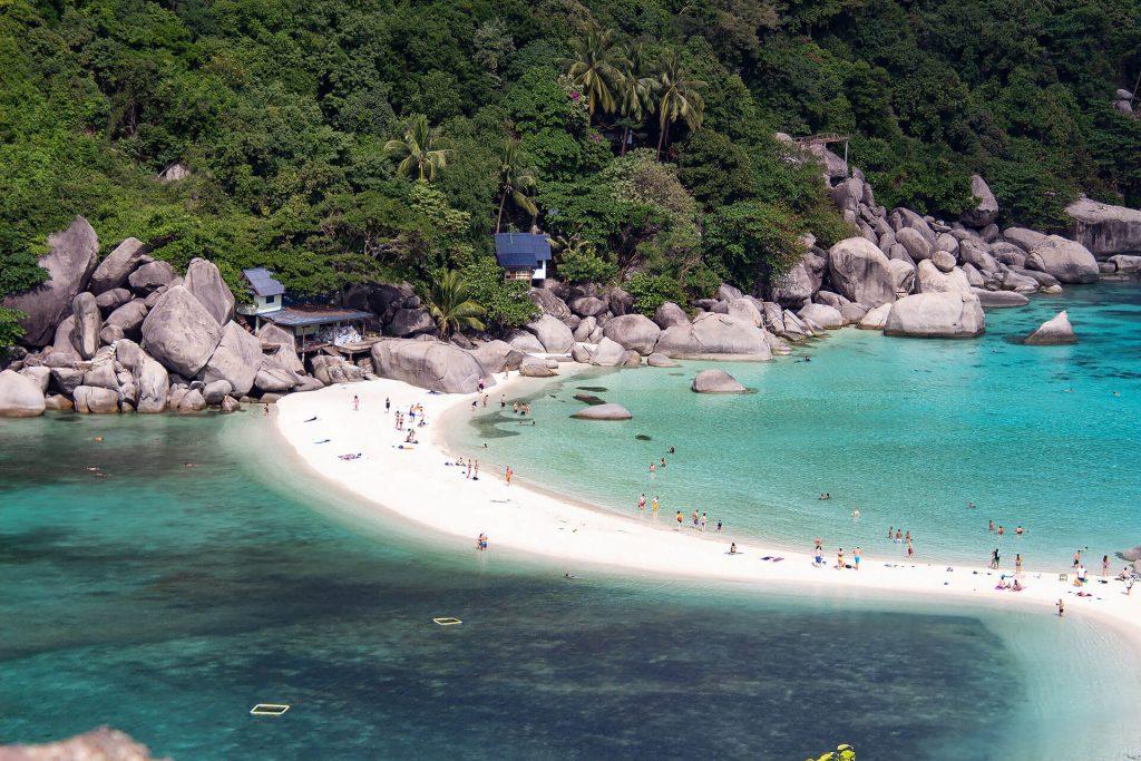 Strand von Nang Yuan