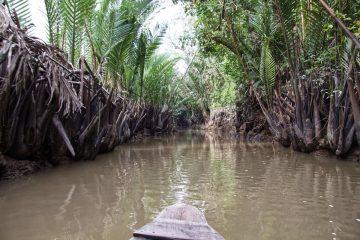 Bootsfahrt durch das Mekong Delta