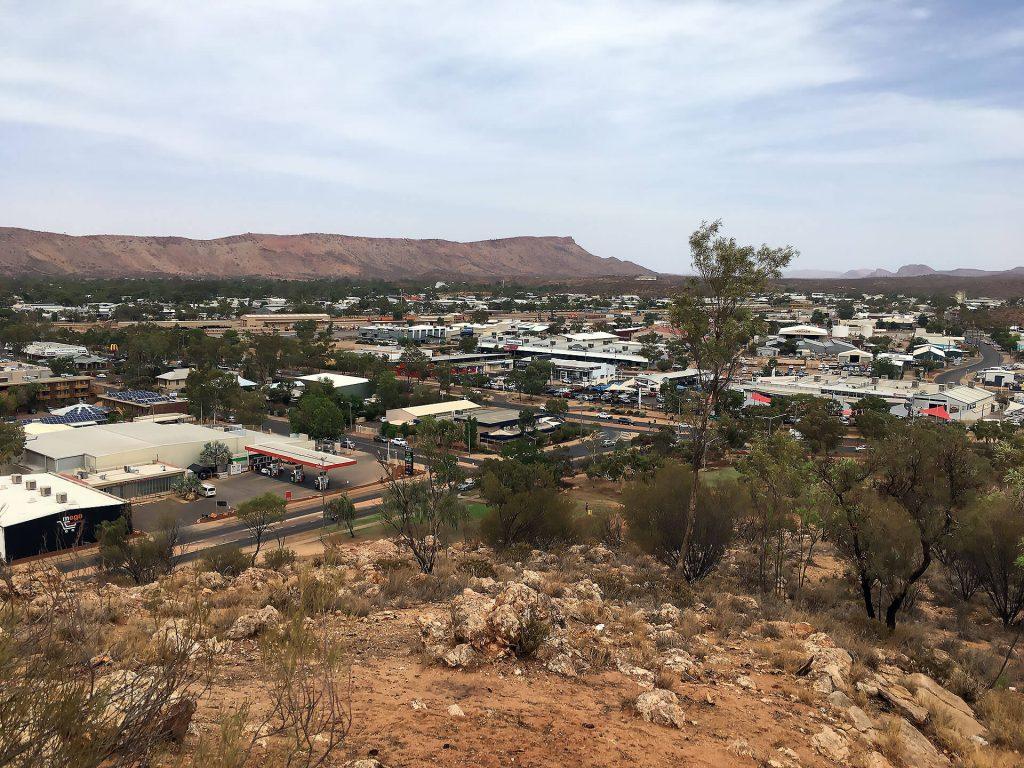 Alice Springs von oben (Anzac Hill)